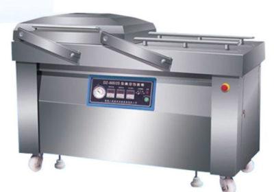Оборудование для упаковки мясной продукции в вакуум.