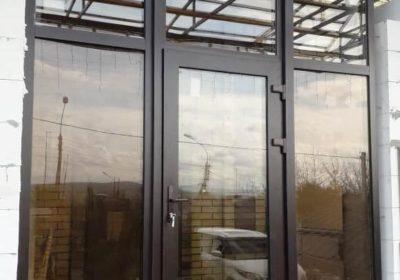 Изготовление и установка алюминиевых окон и дверей