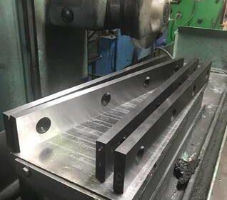 Ножи гильотинные по металлу 550 60 20мм