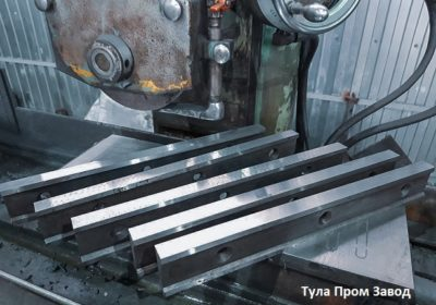 Ножи гильотинные по металлу в наличии