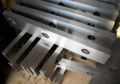 Нож гильотинный по металлу 520*75*25мм.