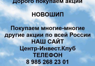 Покупка акций Новошип