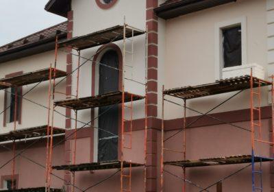 Утепление фасадов зданий.